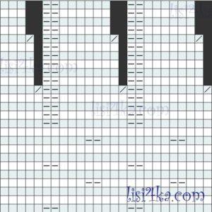 sxema-uzor-kosa-1-plate-zagadka-melanjebix-polos